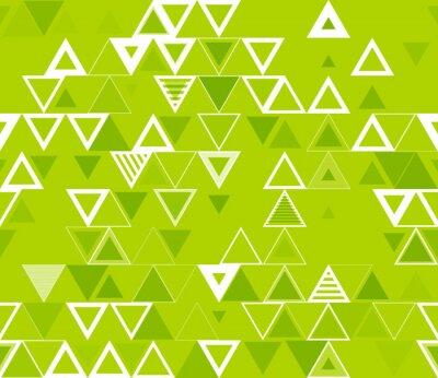 Картина Бесшовные геометрический узор с треугольниками.