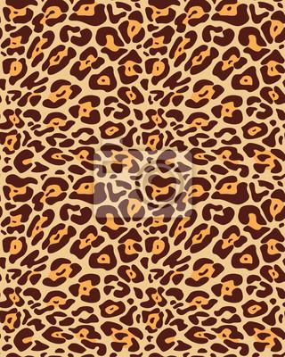 Бесшовные меха леопарда картины