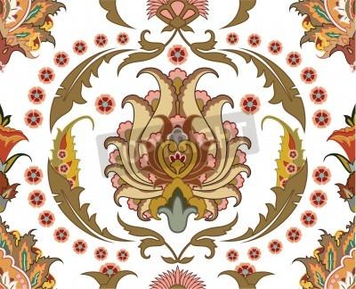 Картина Бесшовные орнамент с дизайном восточном