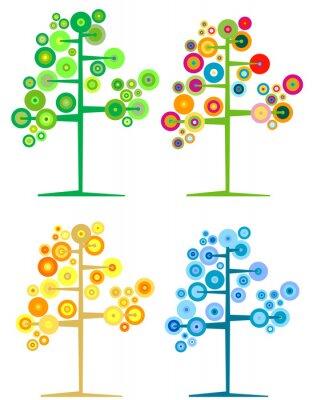 сезонные деревья