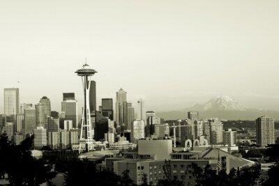 Сиэтл панорама