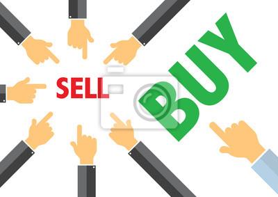 продать или купить - contracyclical понятие тренда, покупка продажа