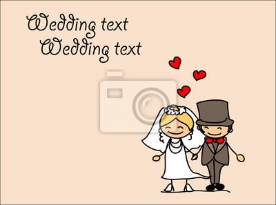 Установить героев мультфильмов свадьбы