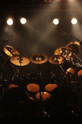 Картина Набор барабанов на сцене