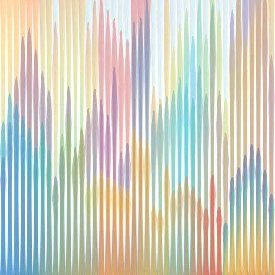 Картина Sfondo strisce colorate