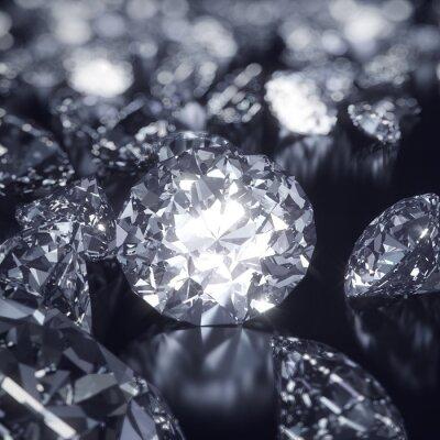 Картина Блестящий фон Алмазы