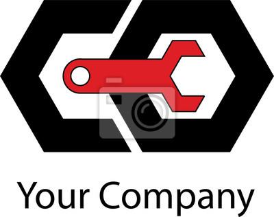 Простой логотип для вашей сети или компании