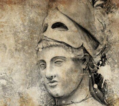 Картина Эскиз сделаны с цифровой планшет общих Перикла
