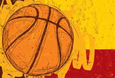 Картина Эскизные Баскетбол Фон