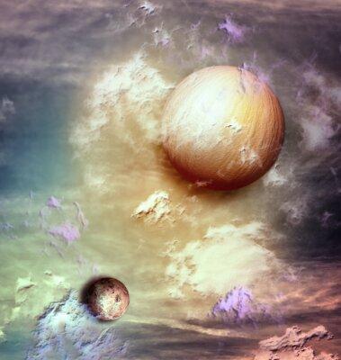 Картина Небо с планет