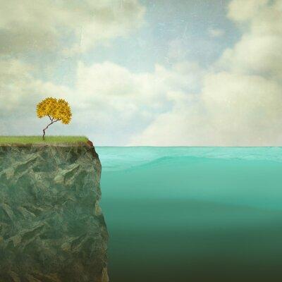 Картина Небольшое дерево сидит