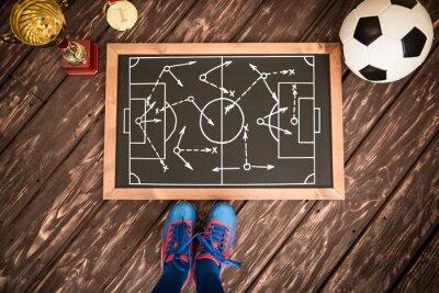 Картина Футбол стратегия игры