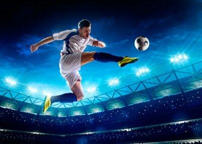 Картина Футболист в действии
