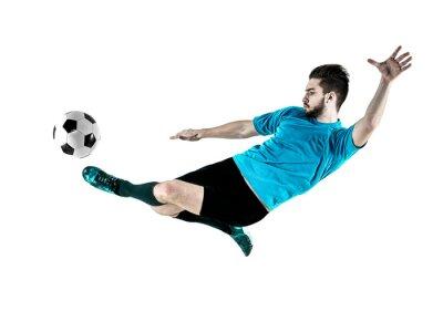 Картина Футболист Человек Изолированные