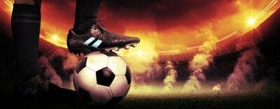 Картина Soccer protest