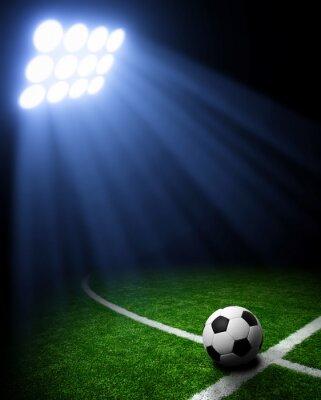 Картина Футбольный стадион