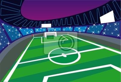 Футбольный стадион широкий угол Перспектива