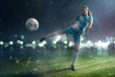 Картина Футбол девушку
