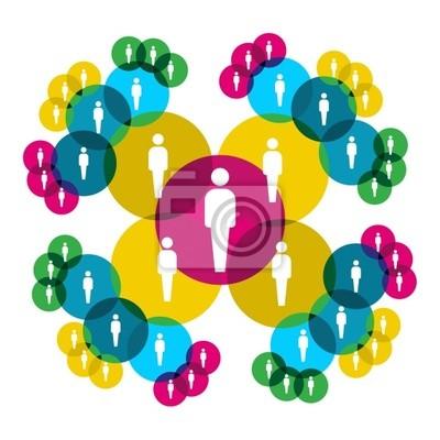 Социальная схема подключения к сети.
