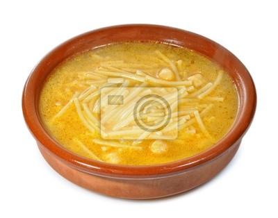 Сопа де Cocido де Garbanzos.