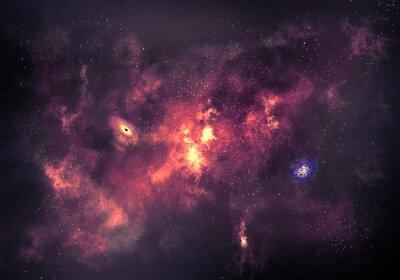 Картина Космическая фон