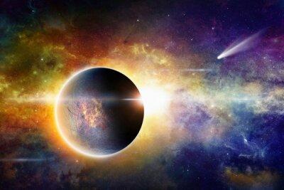 Картина Космический фон
