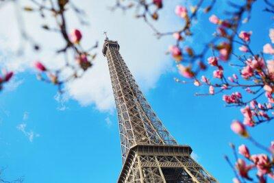 Картина Весна в Париже