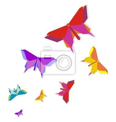 Весна Оригами бабочка