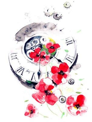 Картина весеннее время