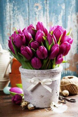 Картина Весенние тюльпаны