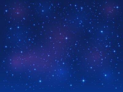 Картина Звезды на фоне голубого неба