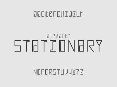 Stationary alphabet. Vector