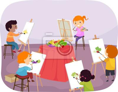 Иллюстрация к изобразительному рисунку Kidsman Kids