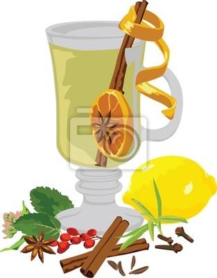 натюрморт чай и специи