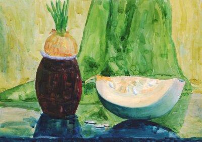 Картина Акварельная живопись
