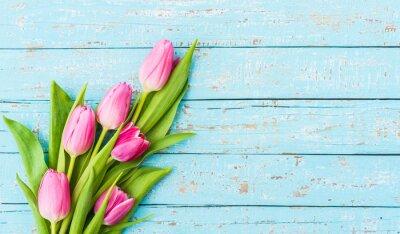Картина Букет из тюльпанов Rosa