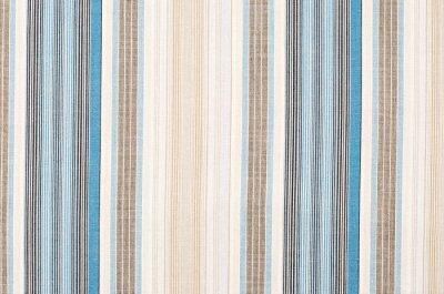 Картина Полосатый синий и коричневый узор текстиля в качестве фона. Закройте на различных вертикальных полос материал текстуры ткани.