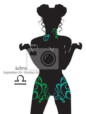 Стилизованный Знак зодиака Весы