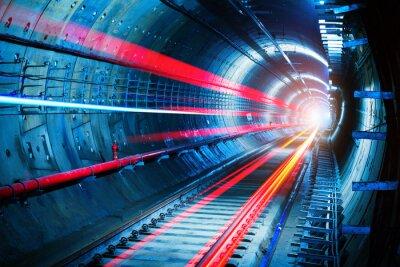 Картина Метро туннеля