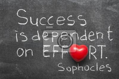 Успех зависит