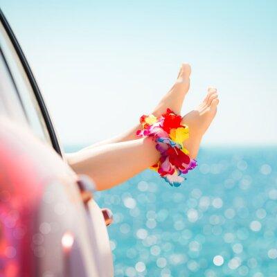 Картина Летние каникулы концепция