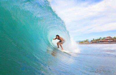 Картина Surfer в трубе