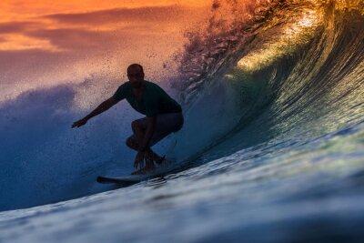 Картина Серфер на Удивительный Wave