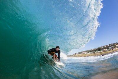 Картина Серфинг Inside сбоями Wave