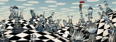 Картина Surreal Chess Landscape