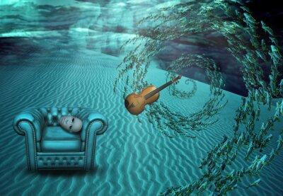 Картина Surreal Подводная съемка