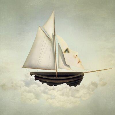 Картина Сюрреалистическая судно