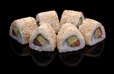 Картина суши, роллы