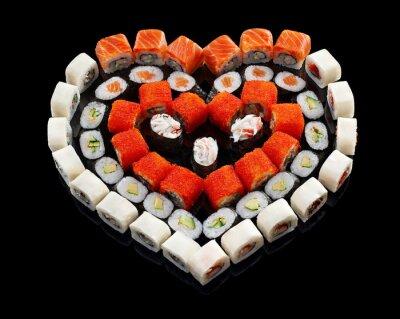 Картина набор суши