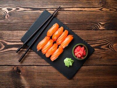 Картина Суши с лососем